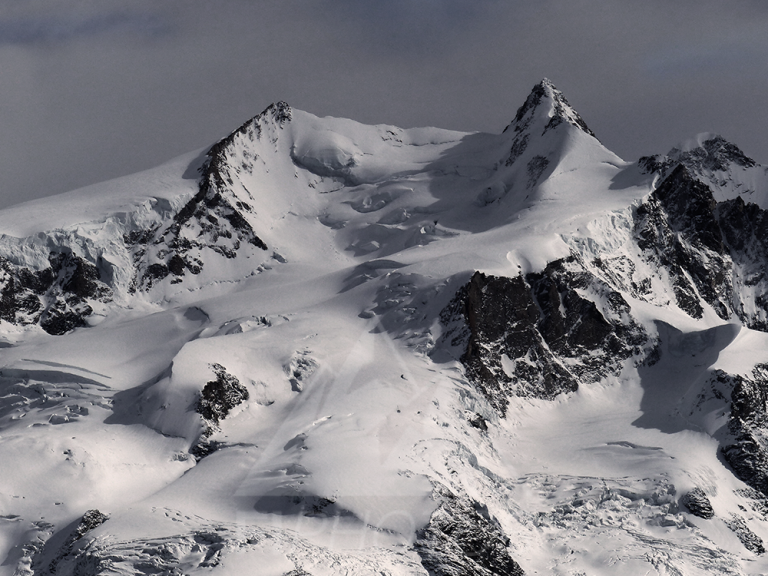 Dufourspitze at the Mirtillo Rosso Family Hotel