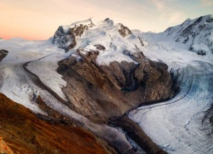 Monte Rosa sunset